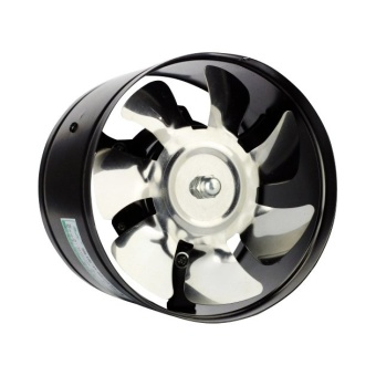 Efficient 6 inch Wall Exhaust Ventilation Fan ( Black )