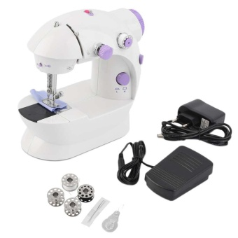 Electric Multi-Function Portable Mini Desktop Sewing Machine Dual Speed Sewing - intl