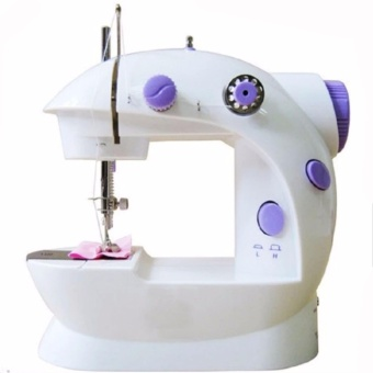 Electric Sewing Machine( Two-Speed Control Mini Portable(Purple)SWTV010