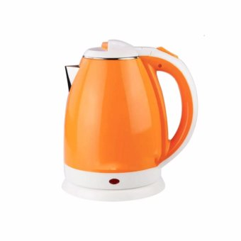 Electric Water Kettle Teapot 2.0L (Orange)
