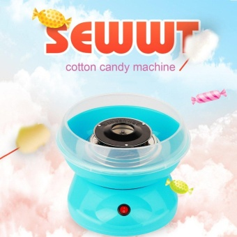 ERA Electric Mini DIY Sweet Cotton Candy Maker 220V Candy SugarMaking Machine Pink/Blue/Coffee - intl