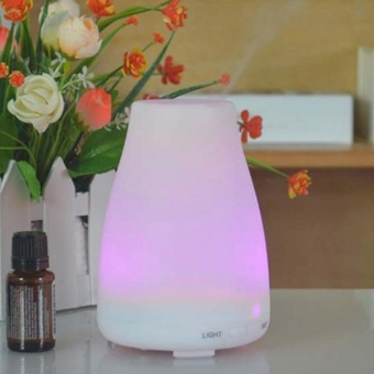 Essential LED Oil Aroma Diffuser Ultrasonic Humidifier AromatherapyAir Purifier - intl
