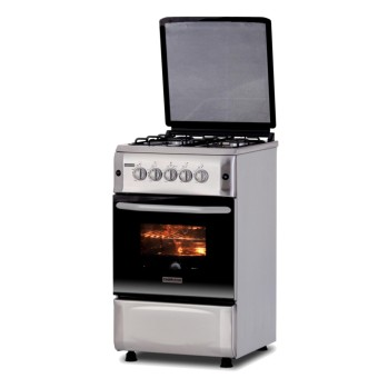 Fabriano F5S40G2-SS 4 Gas Burners with Gas Oven