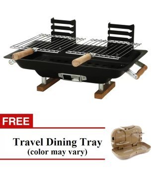 FH-8317 All Steel Hibachi With Free Travel Dining Tray (Color mayvary) Price Philippines