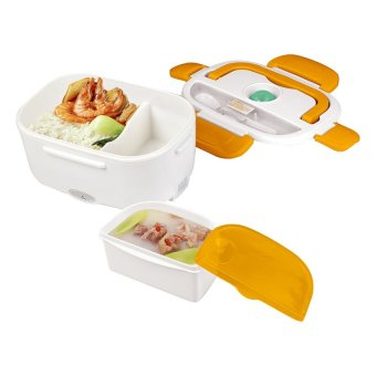FM-218 Heat Preservation Electric Lunch Box (Orange)