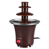 Fondue Mini Chocolate Fountain (Brown) - thumbnail 1