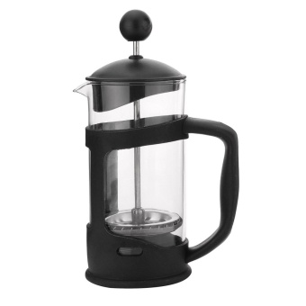 French Press 350ml Heat Resistant Glass Coffee Press Tea Maker Filter Plunger - intl
