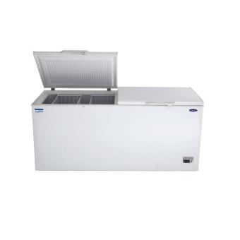 Fujidenzo IFC-20A 20cu.ft. Solid Top Inverter Chest Freezer (White)