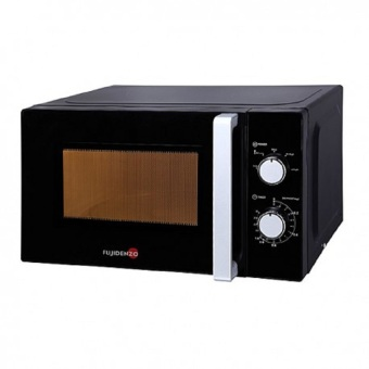 Fujidenzo MM-22 BL 20L Microwave Oven with MechanicalControl(Black)