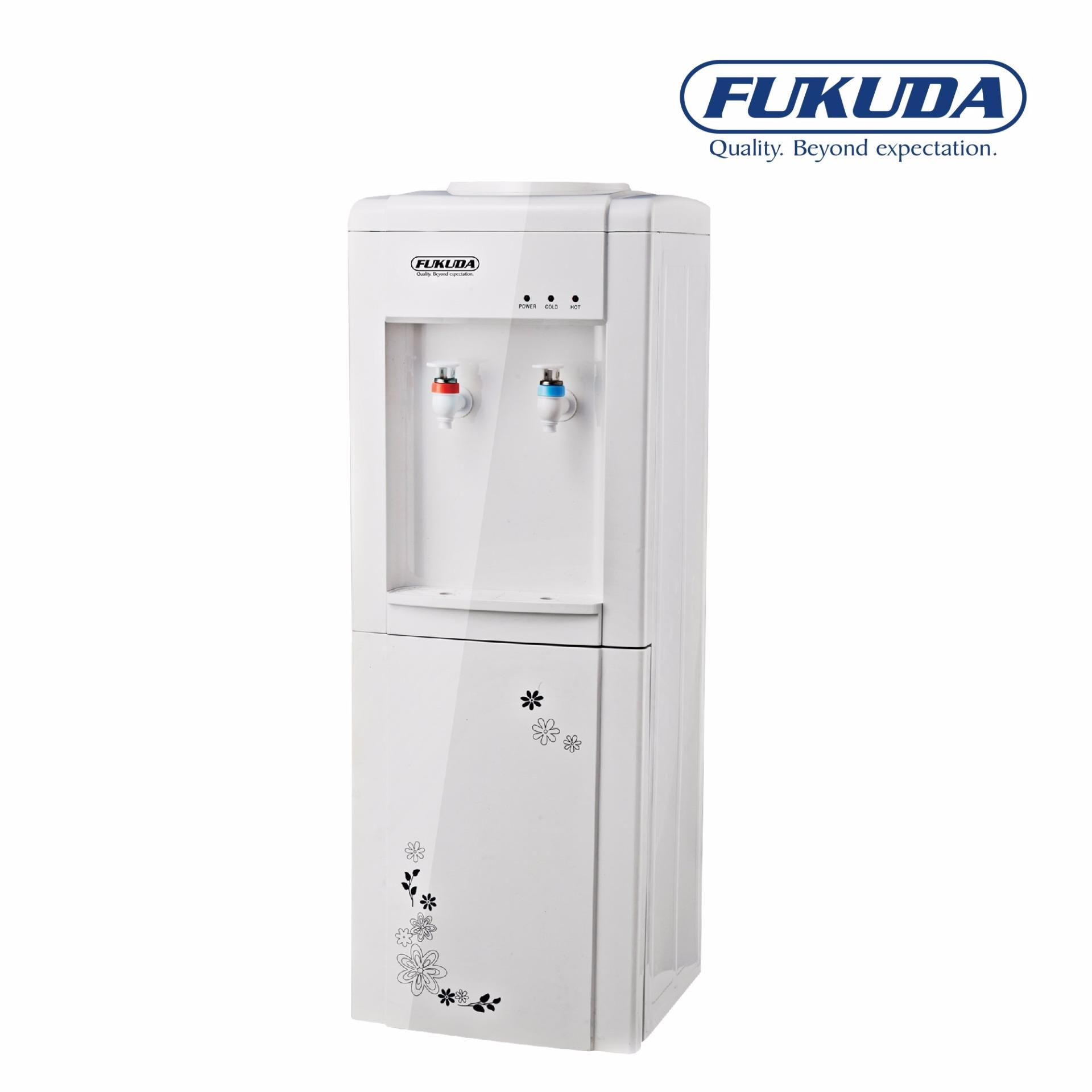 Fukuda FWD790ST Hot & Cold Stand Type Water Dispenser with Cabinet ...