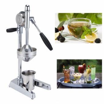 Image Detail GMY Stainless Steel Manual Press Lemon and Orange Squeezer Full