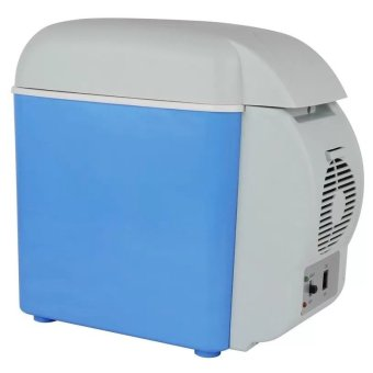 Gonzalez Cooling and Warming Fridge 7.5L (Blue)