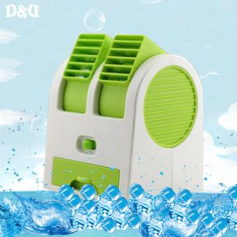 Greatnes D&D M4317 Portable Mini Electric Bladeless Fan (Green)