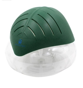 H2O Air Revitalizer and Purifier DARK GREEN with LED Light and Free Aroma Scent