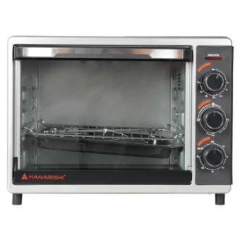 Hanabishi HEO-30SS 30L Electric Oven (Black) with Free Peri BambooCharcoal Soap