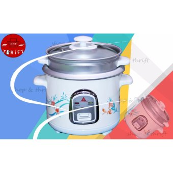 Hanabishi HRC-10FS Rice Cooker with Steamer (white) Price Philippines