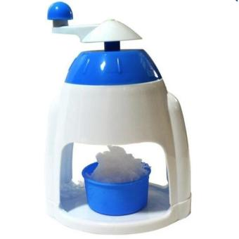 Hansen Ice Crusher Shaver Manual Grinding Plastic Snow Cone MakerMachine