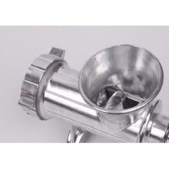 Heavy Duty Hand Operated Aluminum Alloy Meat Mincer/Grinder #32 (32kilos/hr) - 4