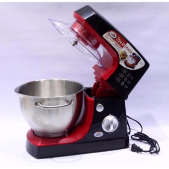 Heavy Duty Kyowa KW-4512 8-Speed 5-Liters Stand Mixer withAccessories (Red/Black) - 2