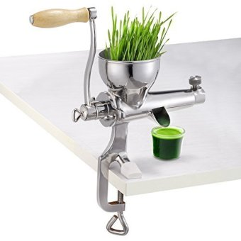 High quality 304 stainless steel Manual WheatGrass Juicer,healthywheat grass juicer, Safe non-toxic materials - intl