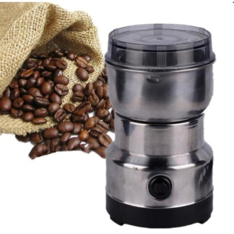 High Service New Electric Coffee Beans Grinder Coffee Maker Nuts Mill Stainless Steel Grinding Bean Nut Spice Herbs - intl