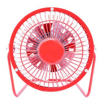 HJ-T-8 USB Fan (Red)