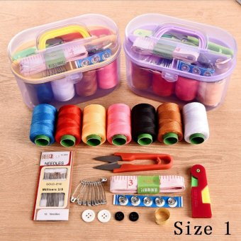HOT Home Universal Portable Sewing Machine Needle and ThreadPackage Hand Stitching Sewing Storage Box DIY Sewing & Buy Latest Newest Home Universal Portable Sewing Machine Needle ... Aboutintivar.Com