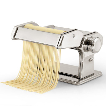 House Scenery Household Mini Pasta Machine Manual Metal SpaetzleMakers Pressing Machine Pole Head Mingled Split Noodle Tools-Silver - intl Price Philippines