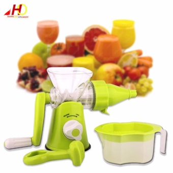 HX-0899 Multi-function Manual Juicer (Green)