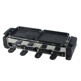 HY9099 Non-Stick Barbecue Grill (Black) - 3