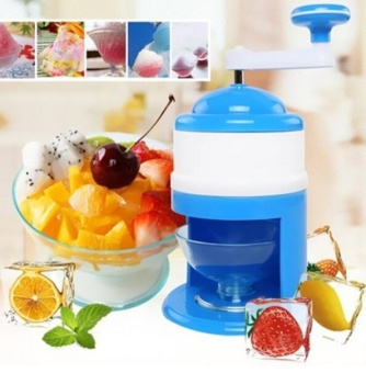Ice Shaver Crusher Manual Crank Shredding Snow Cone Maker Machine Kitchen Home - intl