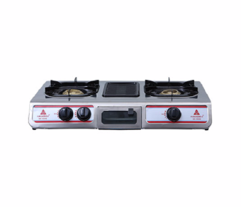 Harga Hanabishi GS 1000G Double Burner Gas Stove