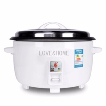 Harga LOVE&HOME 19L Rice Cooker (White)