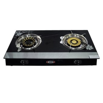 Ako LS-6 Glass Stove Double Burner (Black) Price Philippines