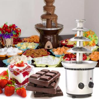 Harga 4-Layer Chocolate Fountain (Silver)