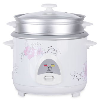Harga Caribbean 1.8L Flower Design Rice Cooker CAR-1800 - CF