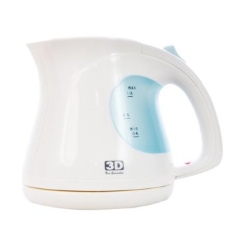 3D PK3022 1.0L Electric Power Kettle (White) Price Philippines