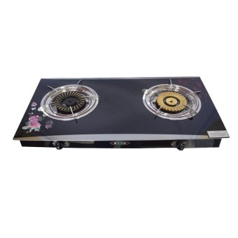 AKO LS-5 Glass Stove Double Burner (Black) Price Philippines