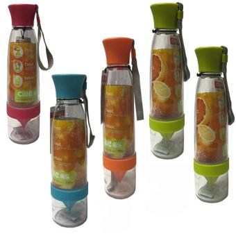 Harga Citrus Juicer Infuser Water Bottle Set of 5 (Muli-Pouch)