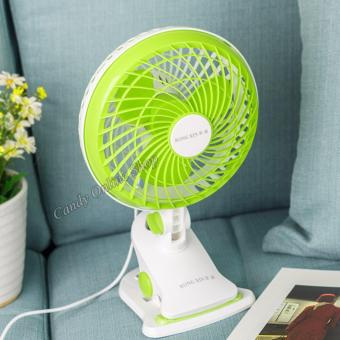 Harga Rising Star Portable USB Fan With A Clip RX03-150 (Green)