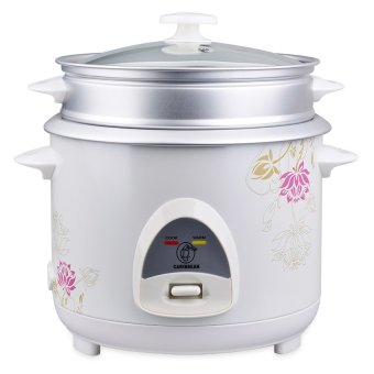 Harga Caribbean 10 Cups Flower Design Rice Cooker CAR-1800 / DF