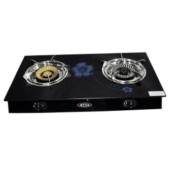 AKO LS-1 Glass Stove Double Burning (Black) Price Philippines