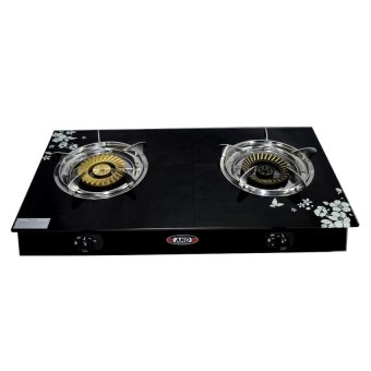 AKO LS-3 Glass Stove Double Burning (Black) Price Philippines