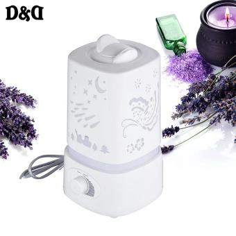Harga D&D 1.5L Ultrasonic Air Humidifier with LED Light Changing
