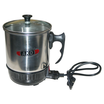 Ako DRB-14 Electric Heating Cup Glass Cover 14cm (Stainless) Price Philippines