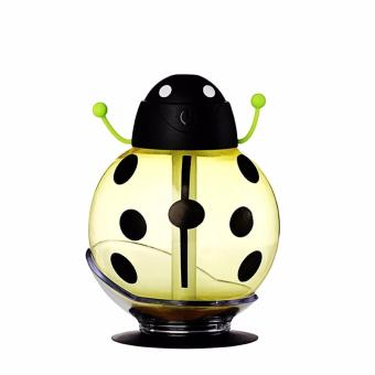 USB Portable Beatle Cool Mist Humidifier (Yellow) Price Philippines