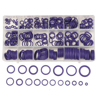Harga 225Pcs Seal O-ring R134a R22 Air Conditioning O-Ring Rubber Washer Assortment PL - intl