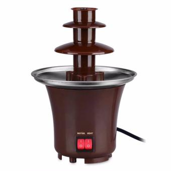 Harga Fondue Mini Chocolate Fountain (Brown)