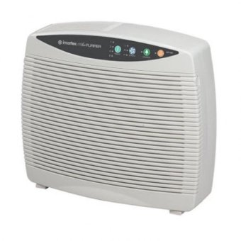 Imarflex Air Purifier with Ionizer and HEPA Filter (White)
