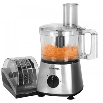 Imarflex IFP-500S Food Processor 1L (Stainless)